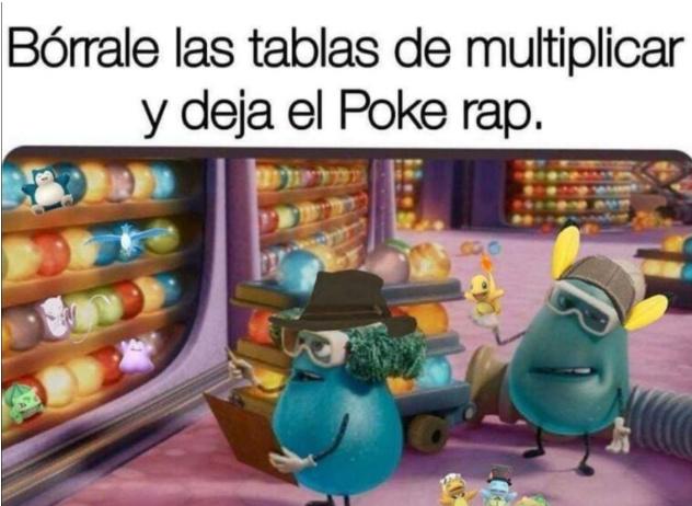Pocke rap - meme