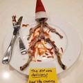 Santa ate an Elf