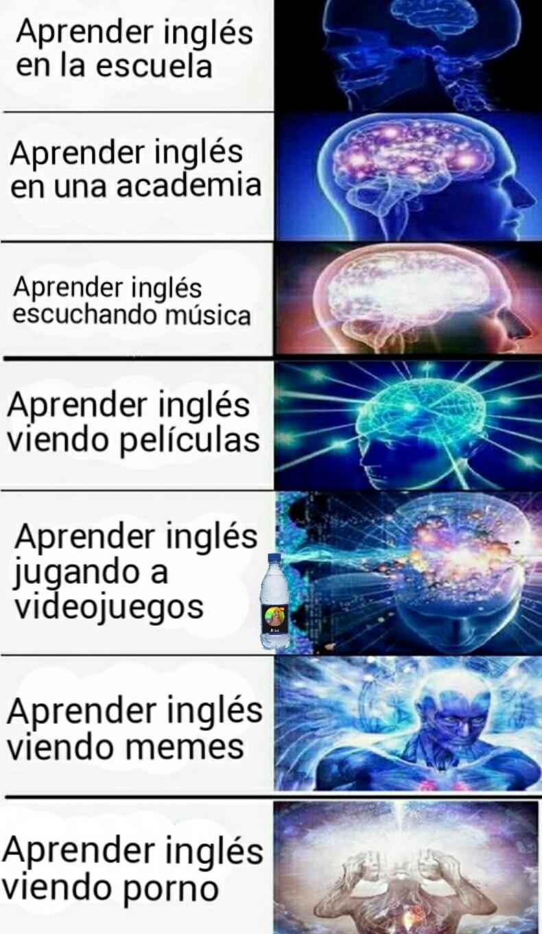 Aprender inglés (͡° ͜ʖ ͡°) - meme