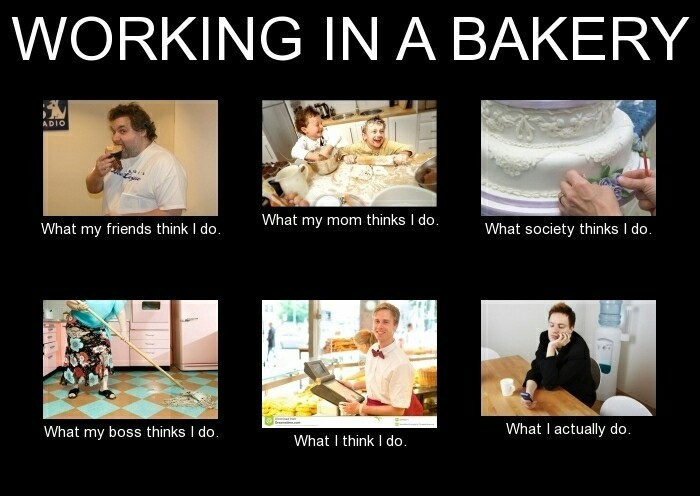A baker is actually an undercover memeroider