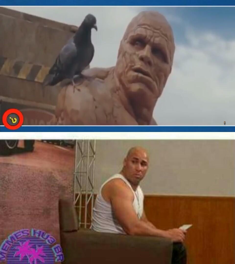 Qualquer semelhança é mera coincidência - meme