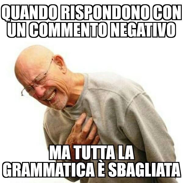 I commenti belli - meme