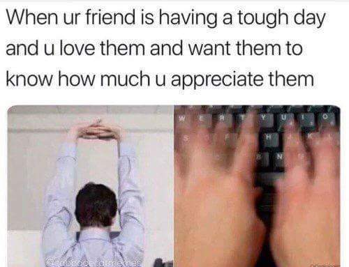Me @ all of you :* - meme