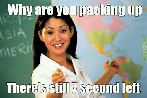 Teachers be like - meme