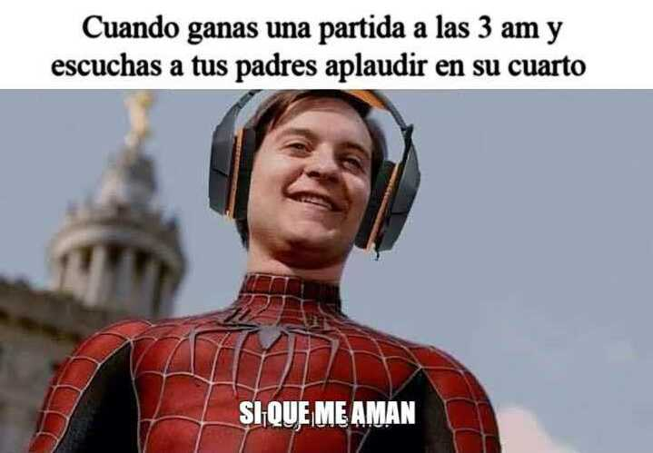 SI QUE ME AMAN - meme