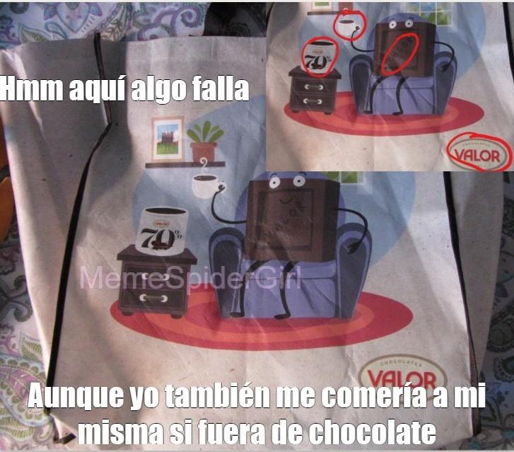 Choco Canibal original - meme