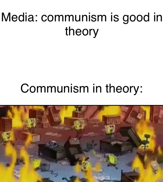 Communism sucks - meme