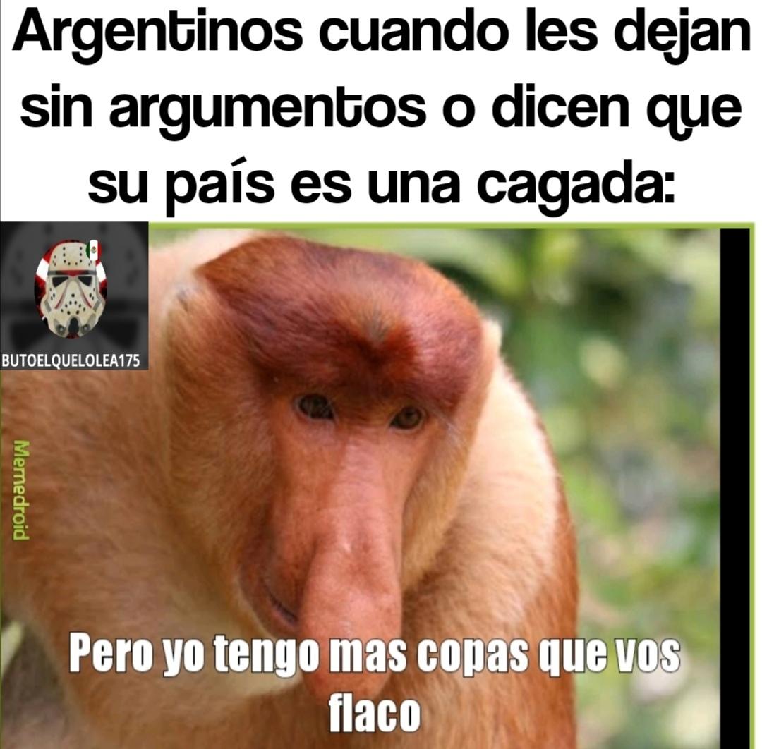 Llore argentino llore :haters: - meme