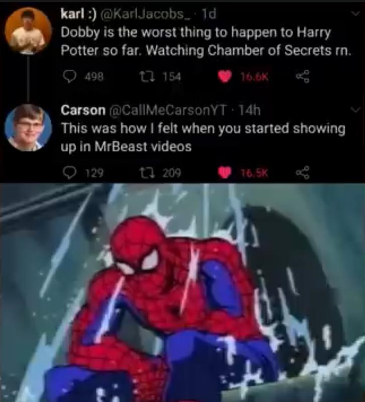 Carson is a wacko - meme