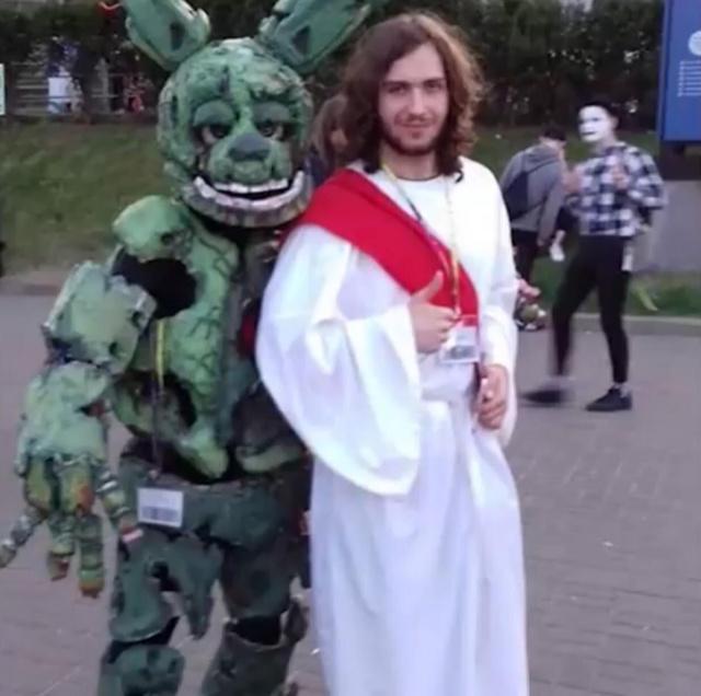 Imagem real de Jesus tentando curar Furro - meme