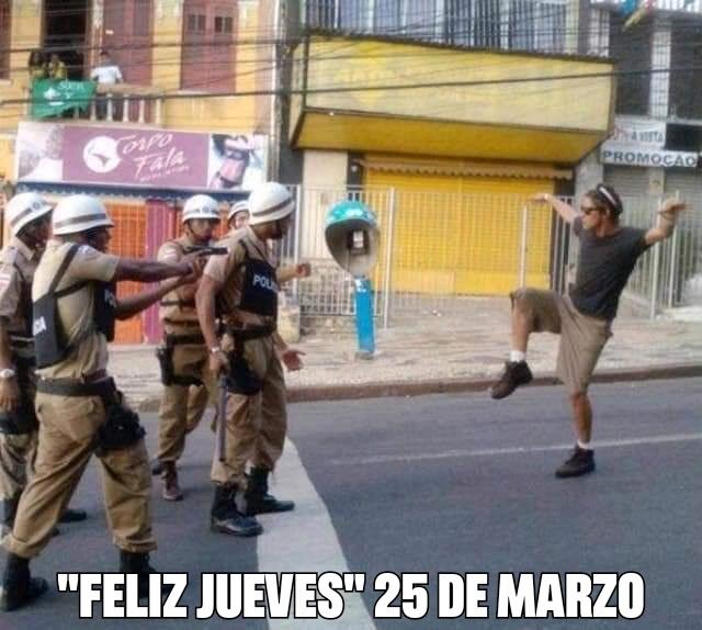 ¡FELIZ JUEVES! - meme