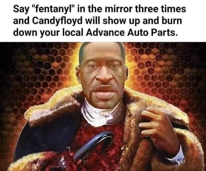 Fentanyl, fentanyl and methamphetamine - meme