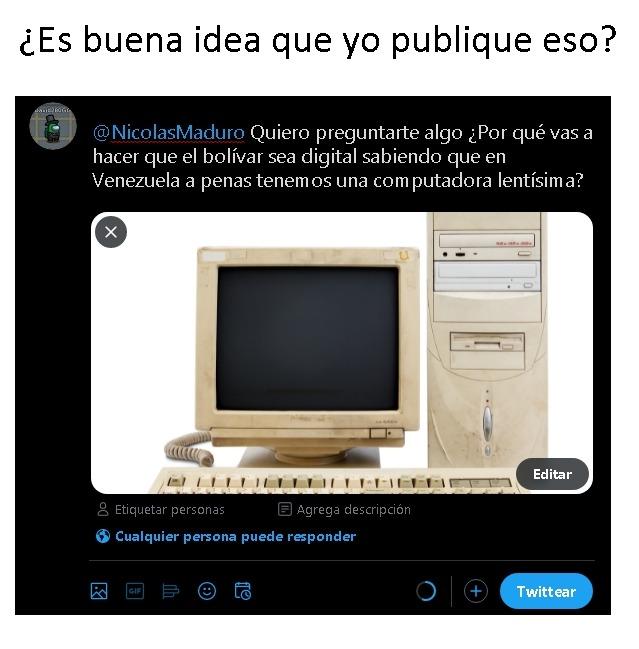 No quiero que Nicolás Maduro me fune - meme