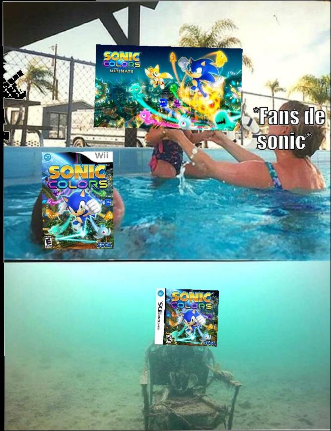 Ojalá pusieran a los wips de Sonic colors de Ds en el ultimáte ): - meme