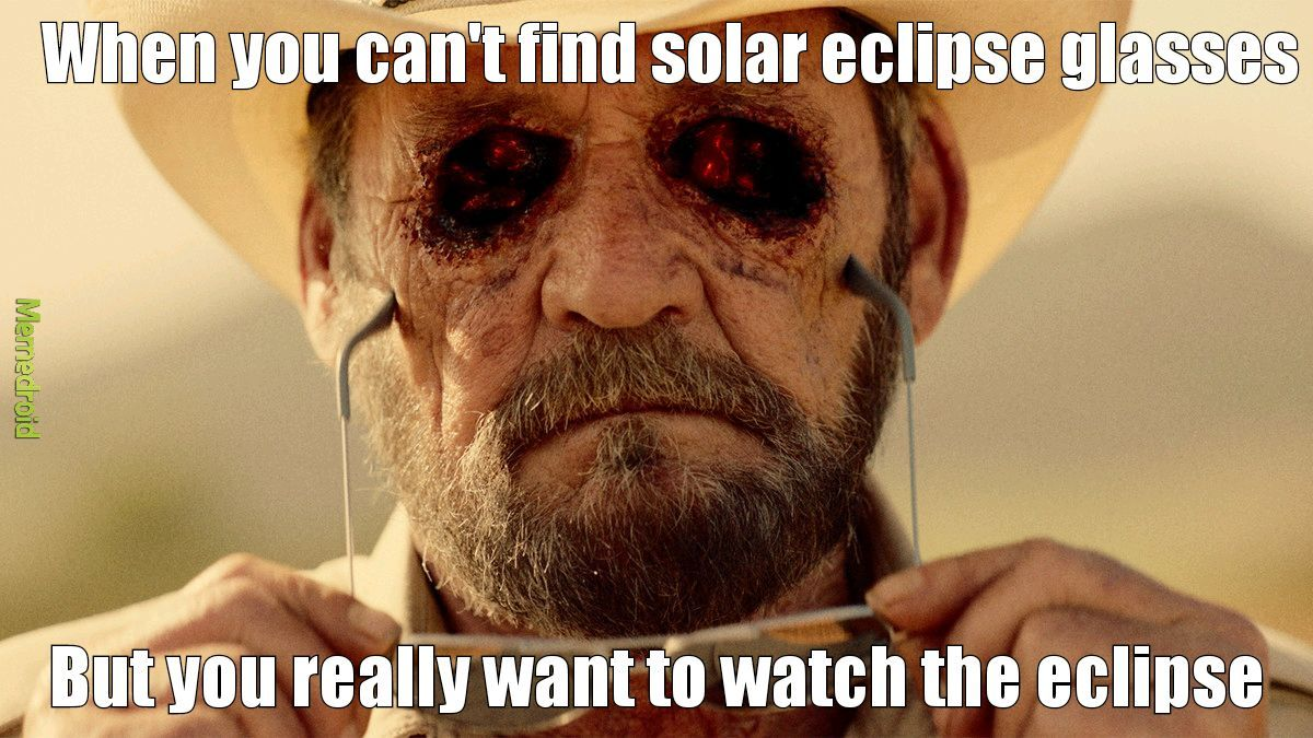 Eclipse a bitch - meme