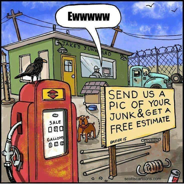 Lol... junk... - meme