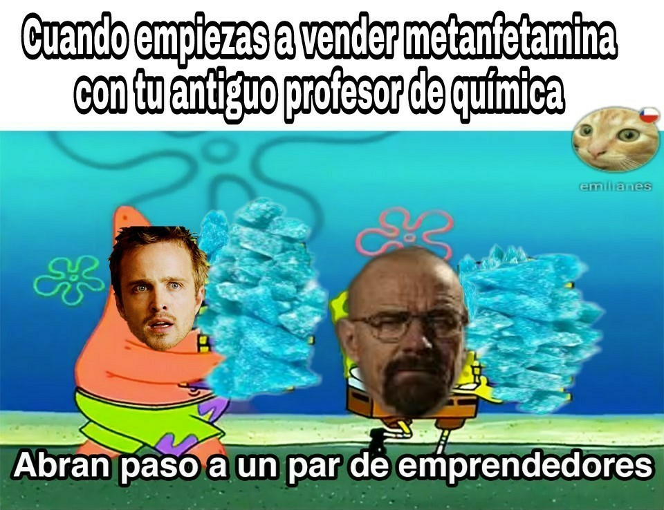 Breaking Bad. - meme