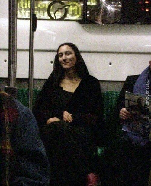 Metro lisa - meme