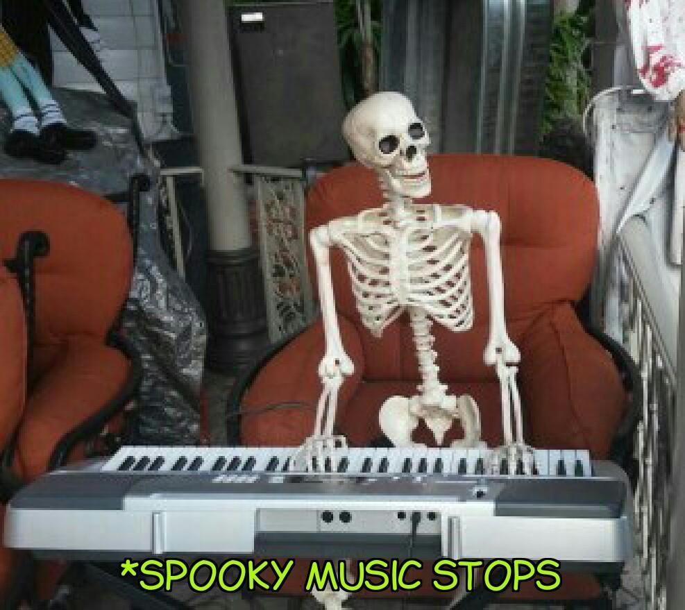 Spooky meme