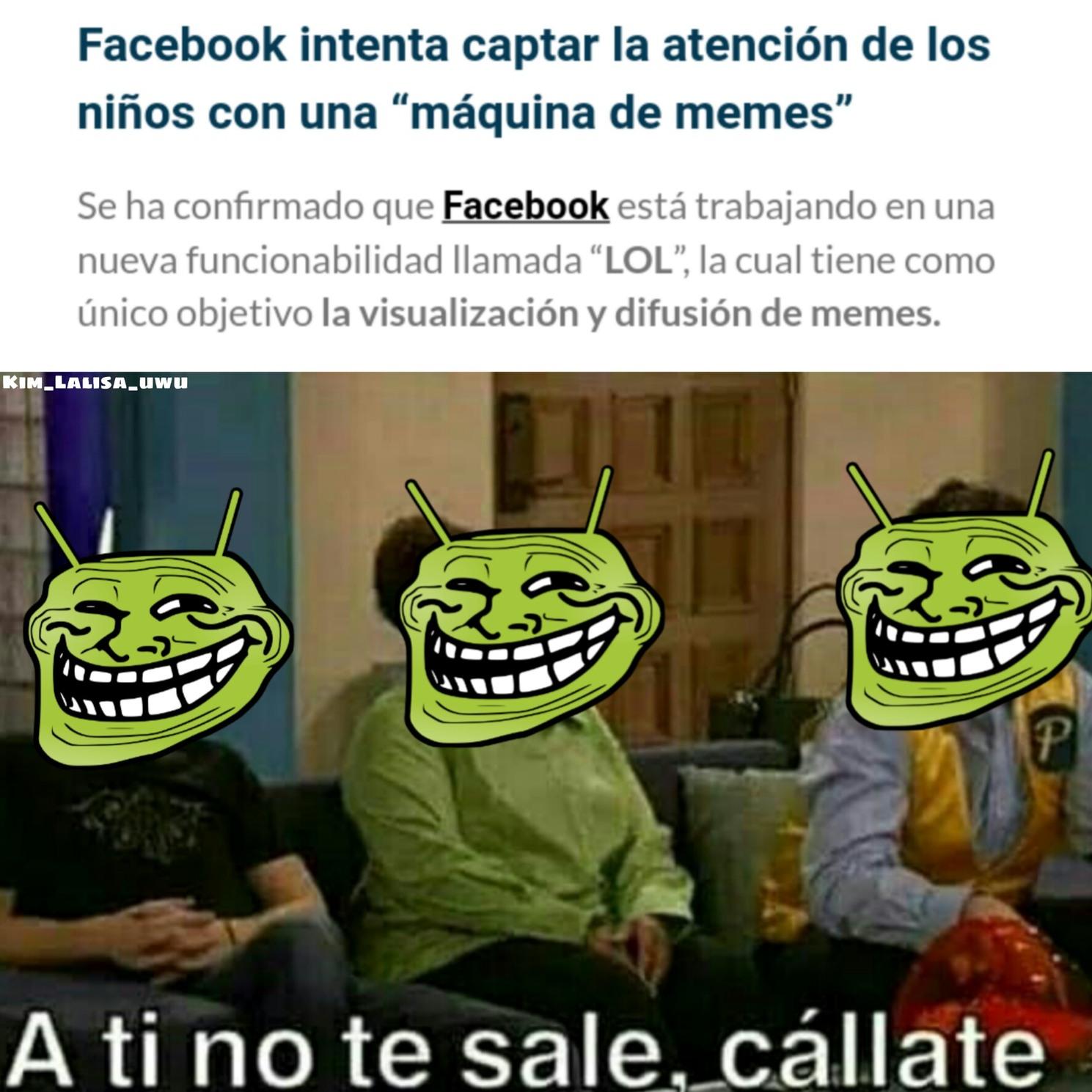 Memedroid vs Facebook