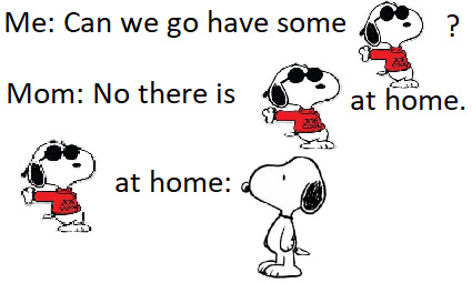 There is cool snoopy at home - meme