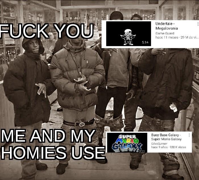 Me va a llover hate - meme
