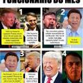 Bolsonaro é a terceira bola do Trump