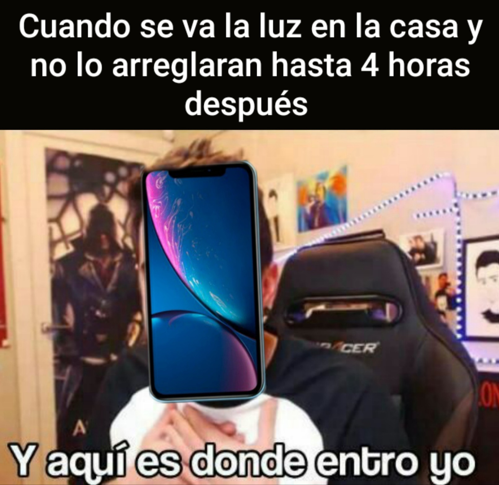 Luz - meme