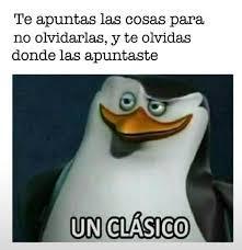 un clasico - meme