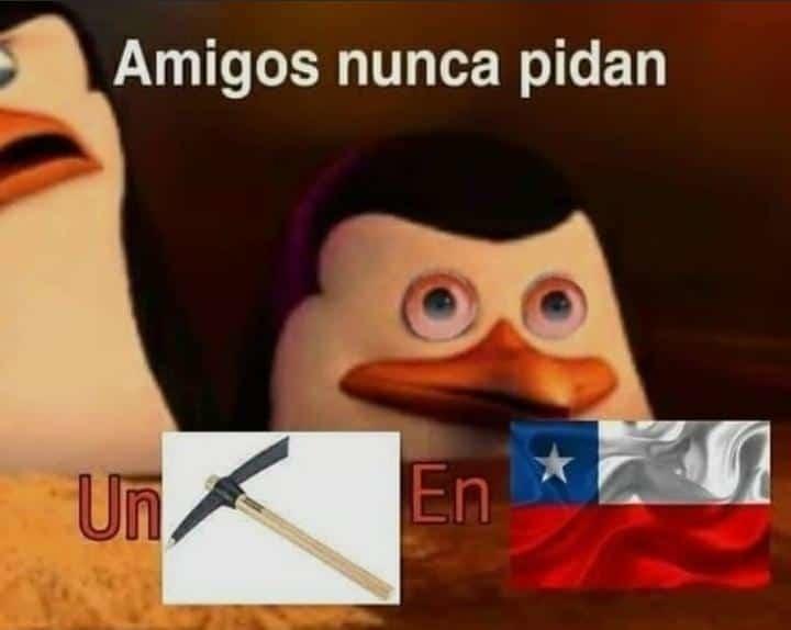 Típico de chile - meme