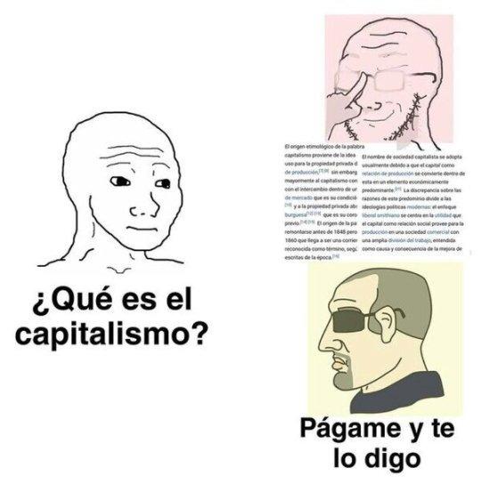 CAPITALISMO - meme