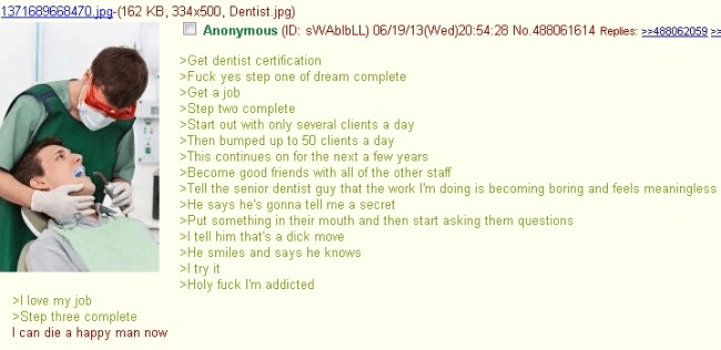 Anon is now living the high life, being a dick and such - meme