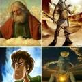 Diferentes culturas interpretações de Deus