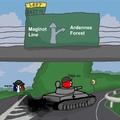 Quand un Nazi drift avec un tank