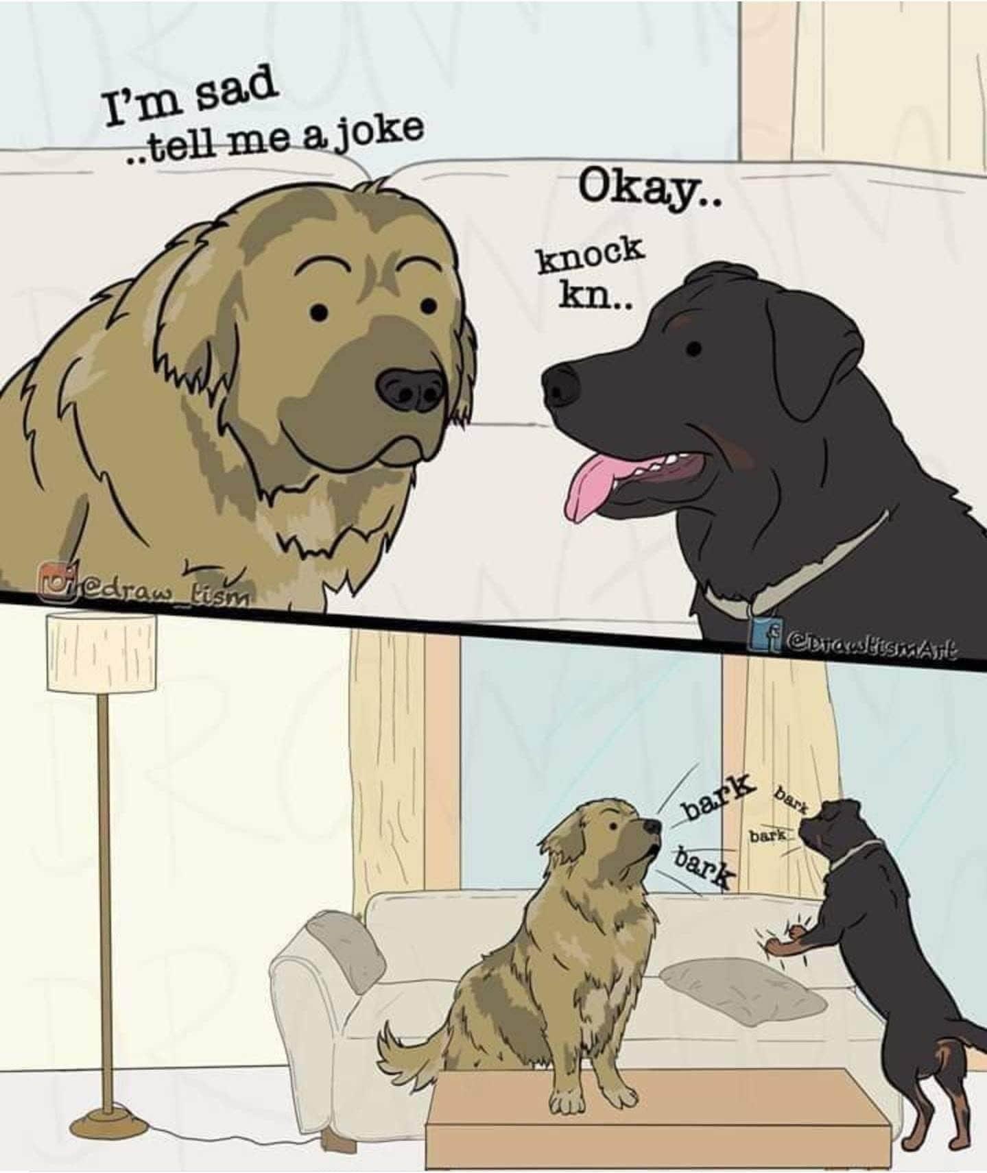 Doggo bork bork bork! - meme