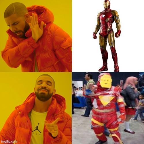 El iron man - meme