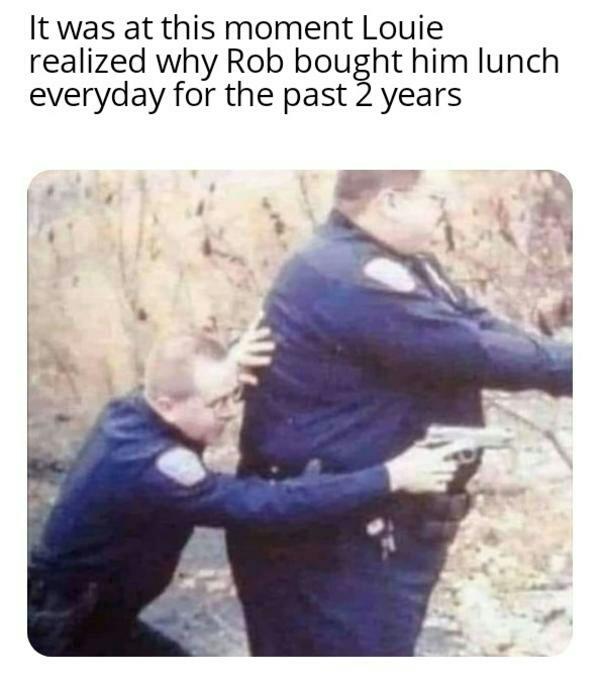 Poor Louie.. - meme