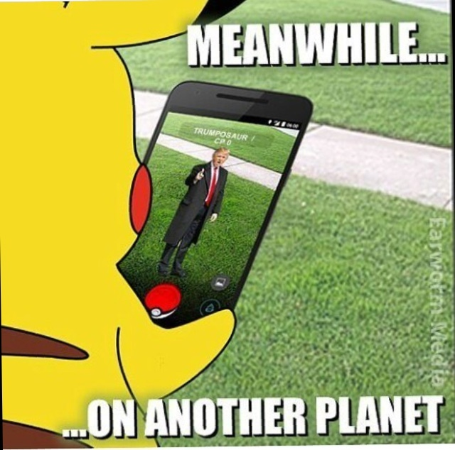 sorry for the Pokemon GO - meme