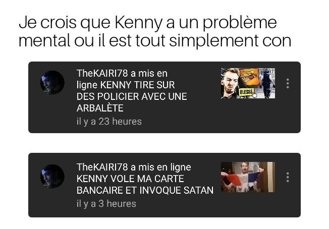 Ah quel co***** ce Kenny