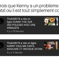 Ah quel co*****  ce Kenny