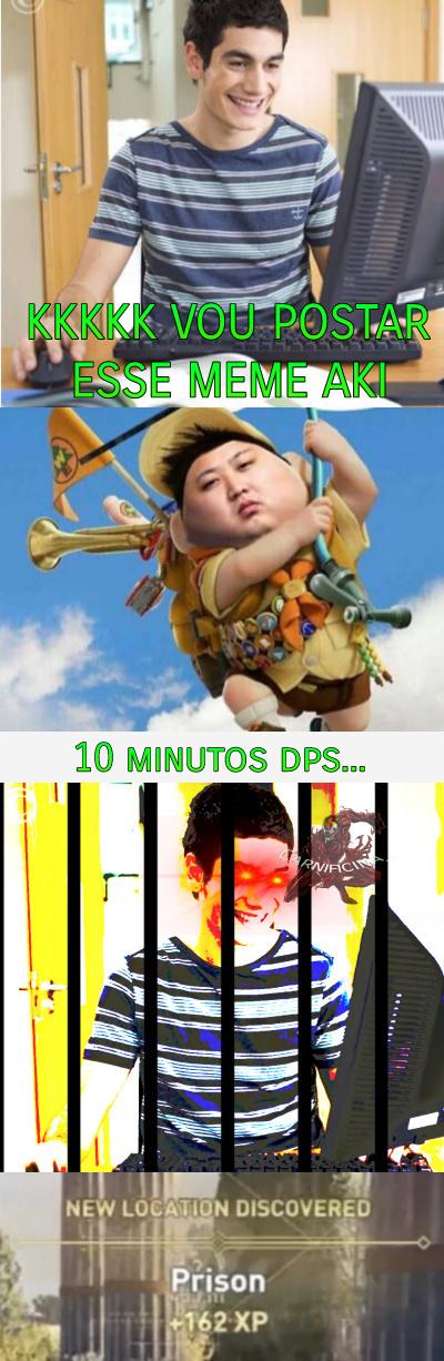 Coreia do Norte e suas trackinagens - meme