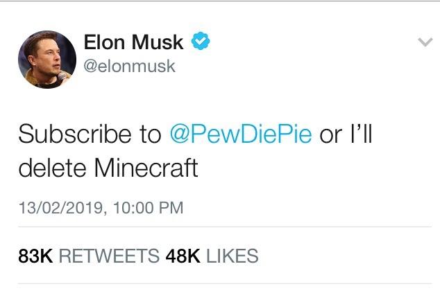 Sub 2 Pewds - meme