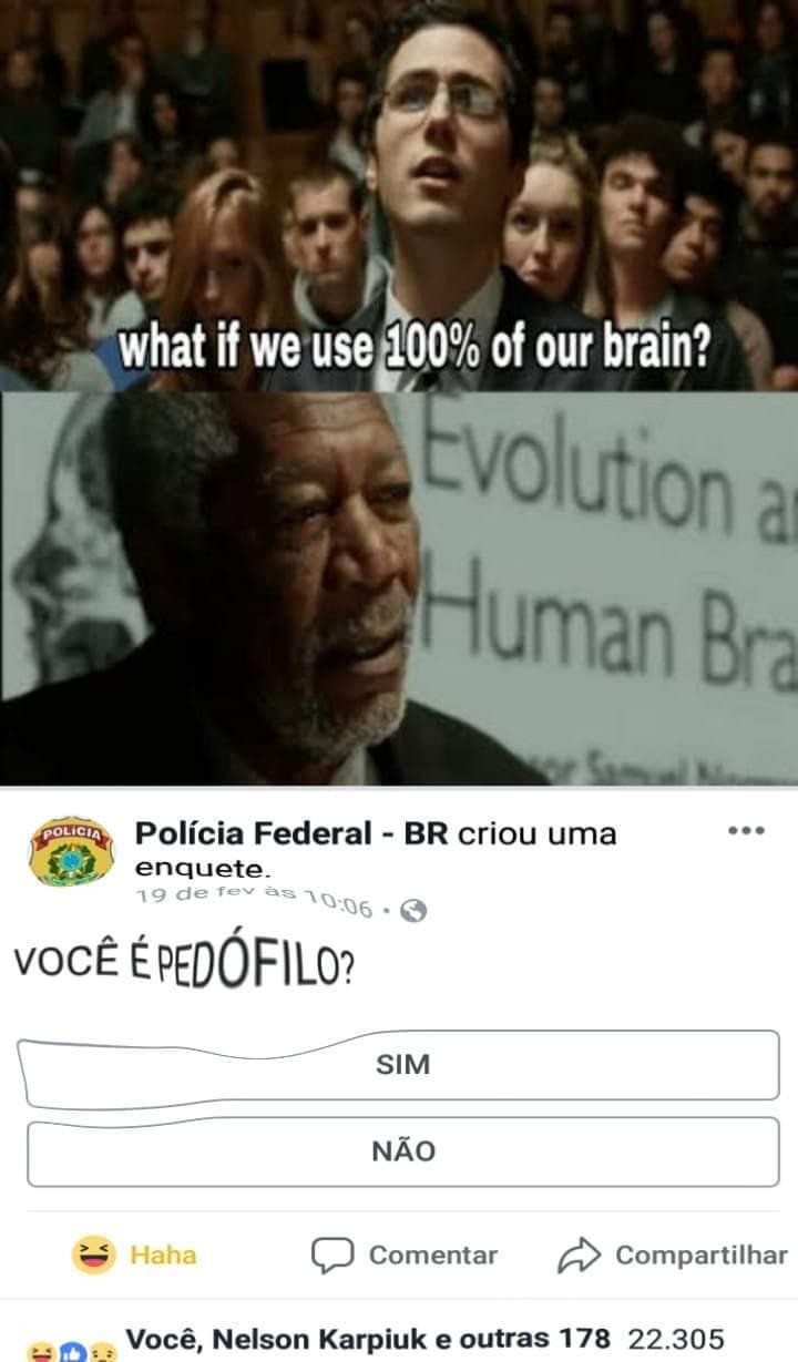 VOcÊ é pEDóFilO? - meme