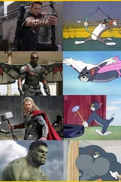 Strongest avenger - meme