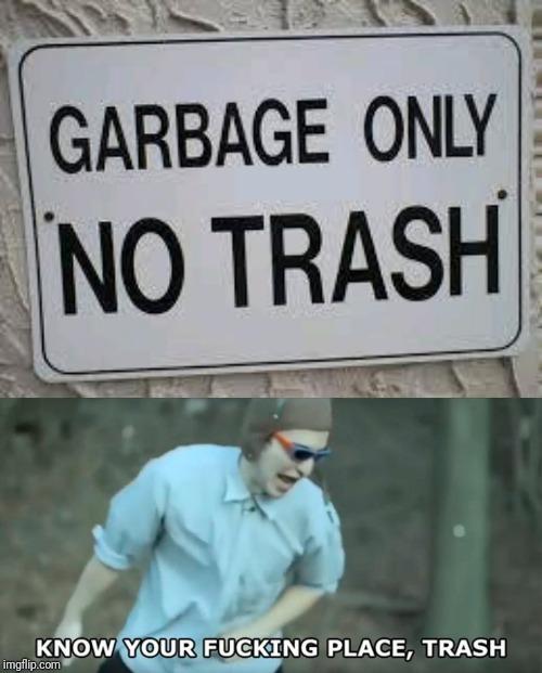 yeah, trashy trasherson - meme