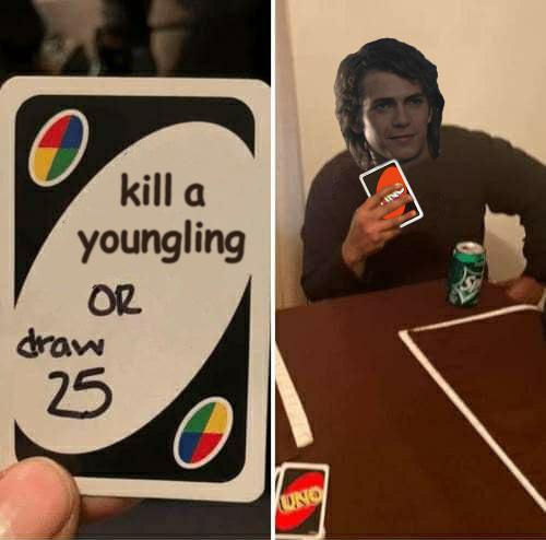 Anakin rules - meme