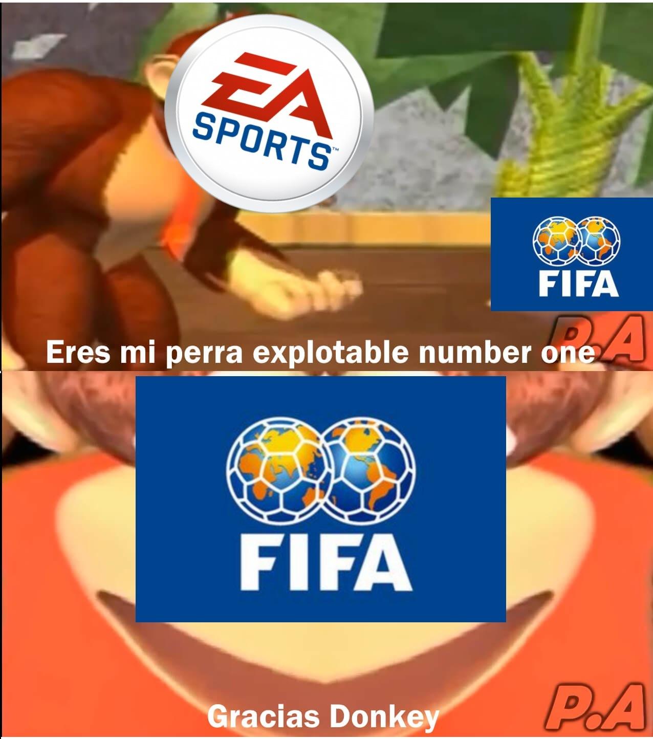 IGN le dió un dos al FIFA 21 señores - meme