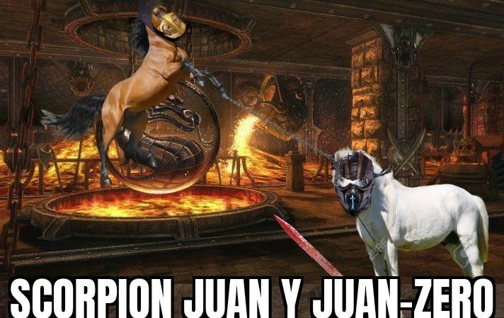 MORTAL JUAN - meme