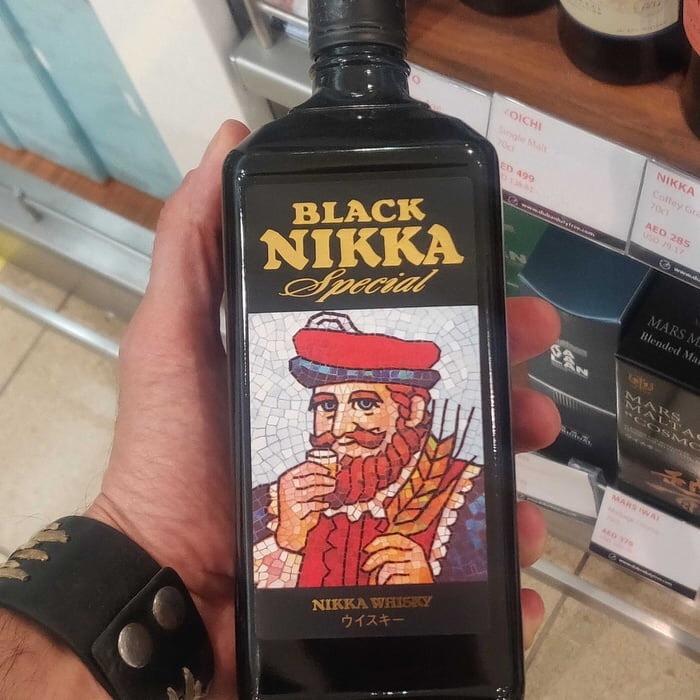 Whisky dos manos - meme