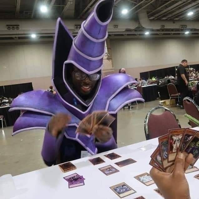 El autentico mago oscuro - meme